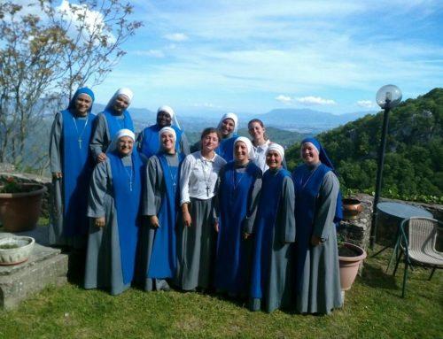 Pellegrinaggio delle novizie al Santuario della Mentorella