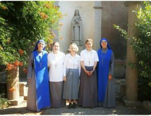 """Cambio del nome di 3 Novizie del Noviziato Monastico """"Santa Gemma Galgani""""."""
