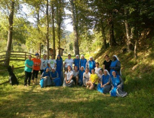 Campeggio delle novizie: Santa Maria del Molise