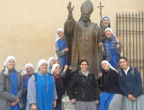 Noviziato 2018: Pellegrinaggio al Santuario Madre delle Grazie della Mentorella