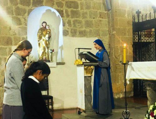 Casa di formazione monastica:  Cambio di nome delle novizie