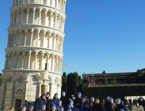 Servidoras dello Studentato di Bagnoregio (VT) in gita a PISA