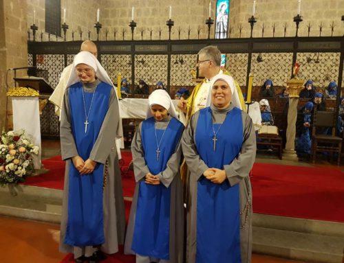 Monastero: Vestizione del Santo abito