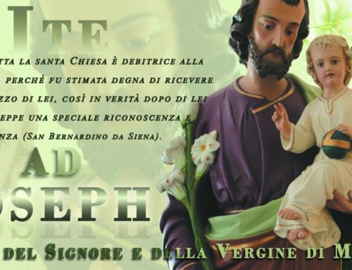 Mese di Marzo dedicato a San Giuseppe