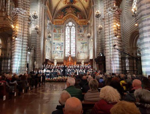 Attività delle suore nel Duomo di Orvieto