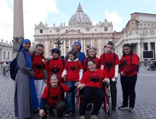 """Comunità """"San Luigi Orione"""", Arameras, Albania-pellegrinaggio a Roma"""