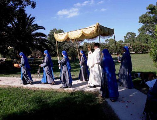 Festa del Corpus Christi in diverse comunità