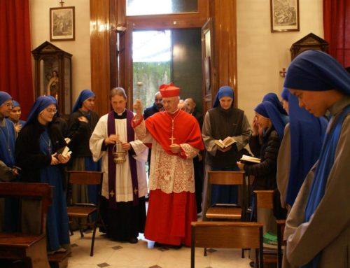 Visita del Cardinale Angelo Bagnasco al Monastero di Genova