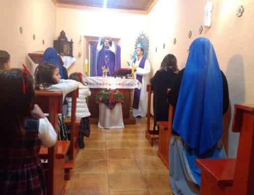 Troshan, Albania: festeggiamenti di Natale con il vescovo