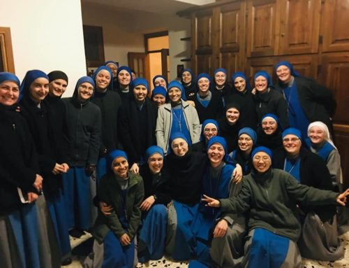 Ingreso nuove suore Studentato Contemplativo Tuscania