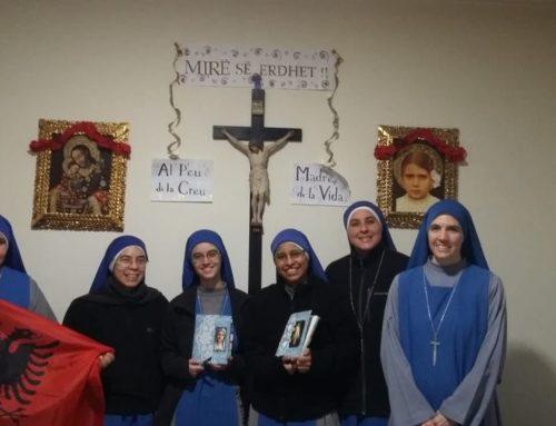 Ingresso nel monastero in Albania di due nuovi membri