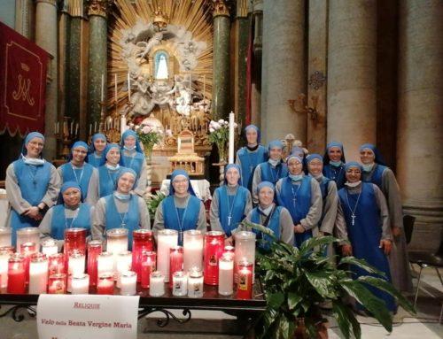 Visita al Manto si San Giuseppe e Velo della Vergine Maria (Roma)