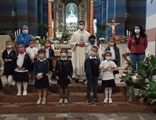 Consacrazione dei bambini a Maria