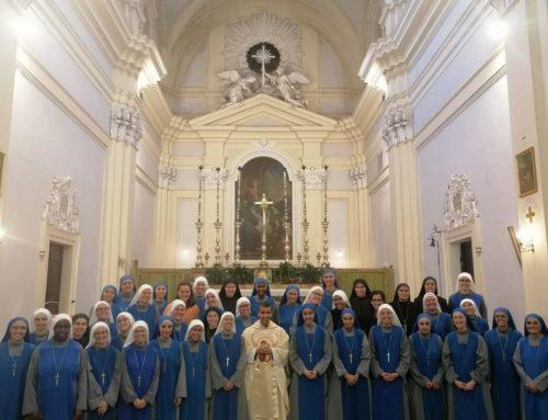 Novizie alla Missione Popolare a Torino