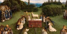 Van Eyck - Adorazione dell'agnello